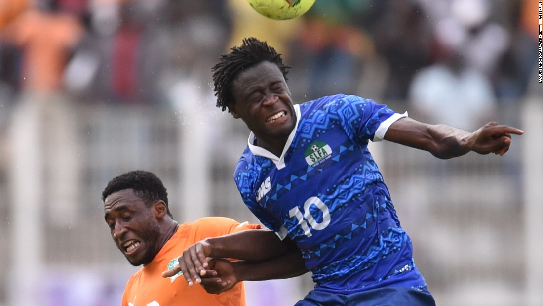 Despite taking up U.S. citizenship, Kamara decided to represent Sierra Leone on the international stage, though he no longer plays for his country in protest at a perceived lack of professionalism in its setup.
