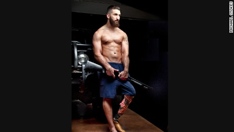 Michael Stokes' photos of wounded warriors