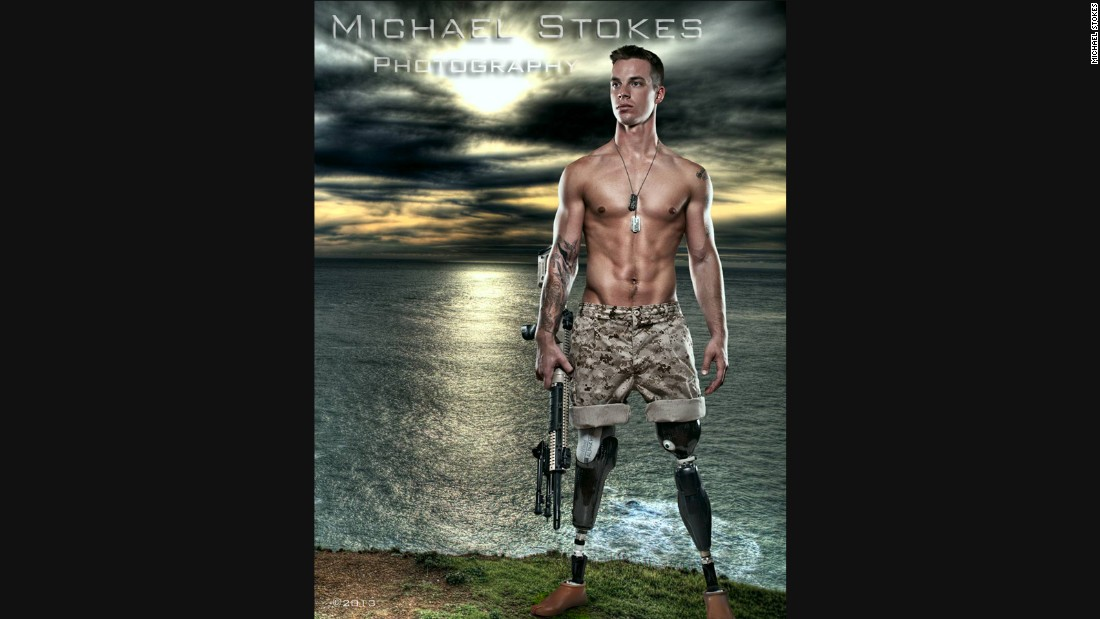 Sexy wounded war veterans