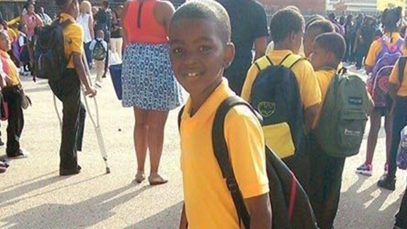 Picture of 9-year-old Tyshawn Lee who died in a shooting on 11/2/15 in Chicago.