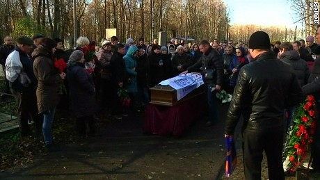 Russia: First funerals for Metrojet plane crash victims