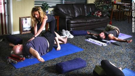 The Role Of Yoga In Healing Trauma >> Healing Veterans Trauma Through Yoga Cnn