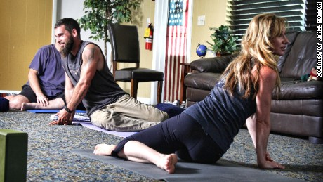 Healing veterans' trauma through yoga