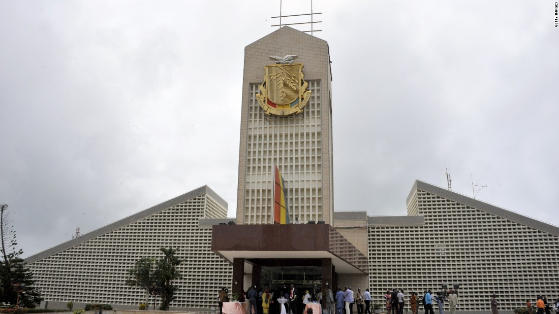 Guinea has been mired by political turmoil, but its people are in the 40th spot for charitable giving in the world, sharing the position with Sweden and Haiti. Shown here is the presidential palace in the country's capital, Conakry.