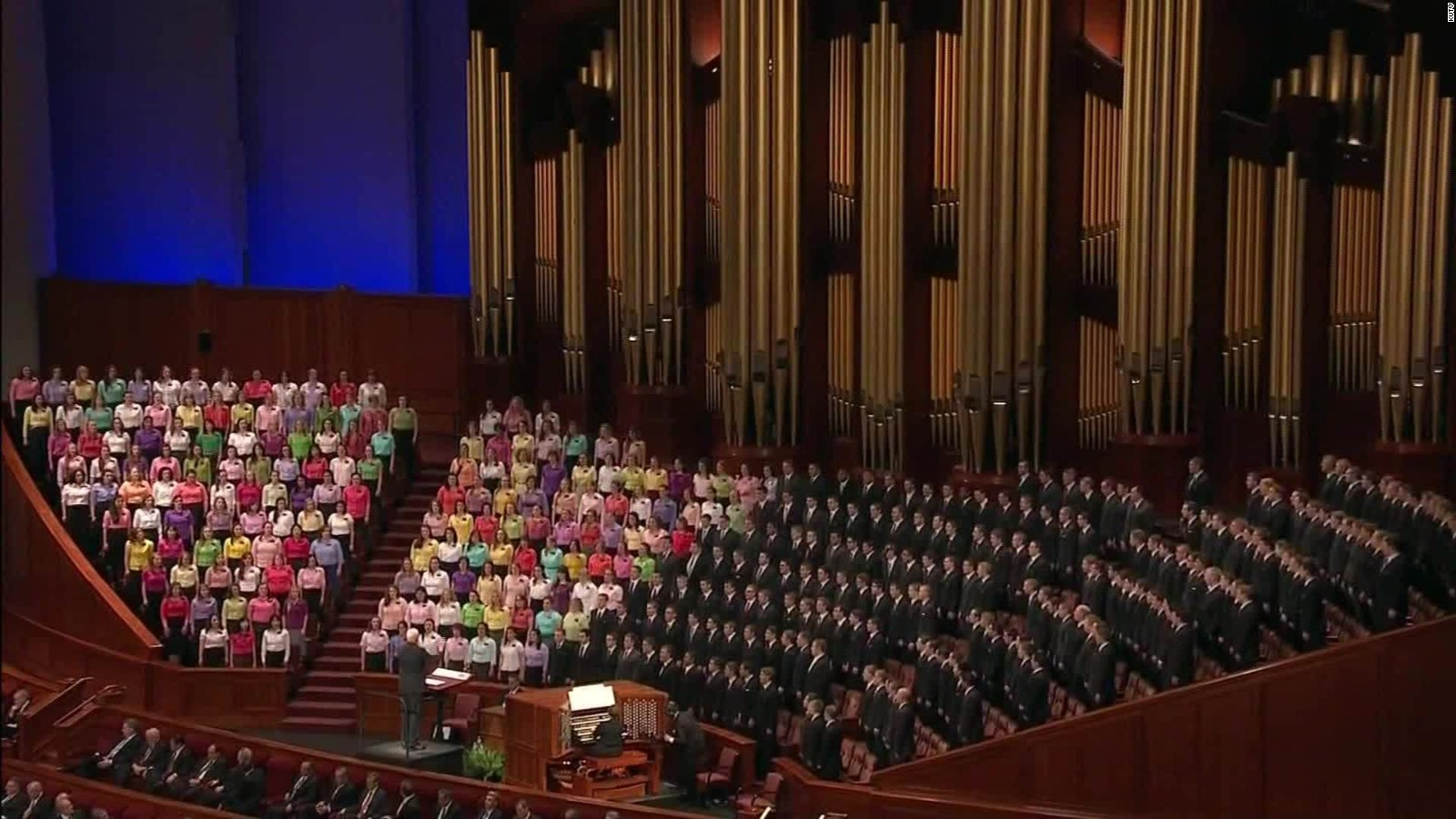 Mormons leaving church to protest same sex