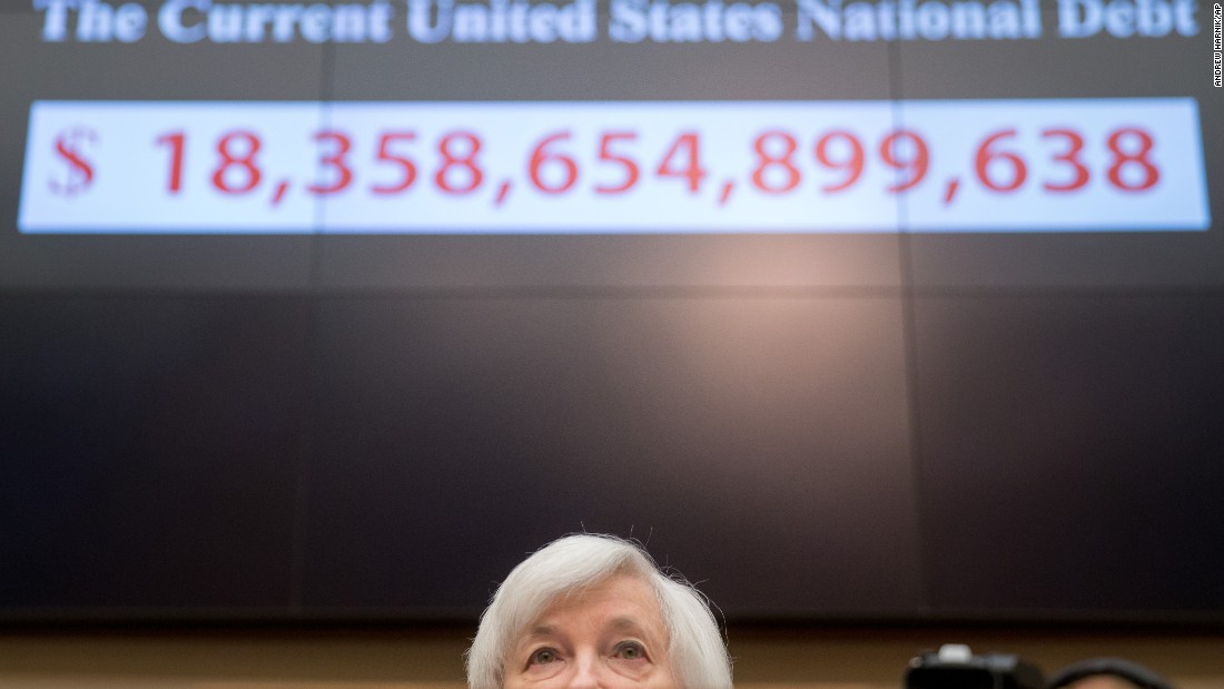 "Janet Yellen, chairwoman of the Federal Reserve, testifies before the House Financial Services Committee on Wednesday, November 4. Yellen told Congress that the Fed <a href=""http://money.cnn.com/2015/11/04/news/economy/janet-yellen-us-economy-december-rate-hike/"" target=""_blank"">could raise its key interest rate</a> at its next meeting in December. It would be the first rate hike -- known as ""liftoff"" -- in almost a decade."