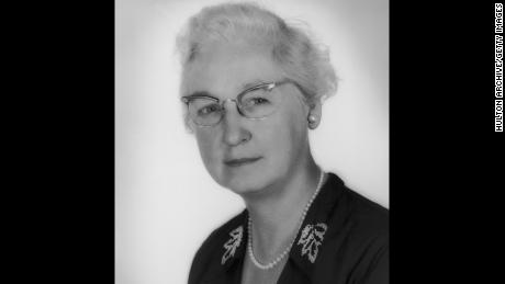 American doctor Virginia Apgar, newly-appointed head of the Division of Congenital Malformations of the National Foundation for Infantile Paralysis (March Of Dimes), June 1959.