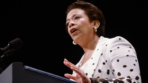 Loretta Lynch was sworn in as the U.S. attorney general on April 27. The nomination of Lynch, the country's first African-American woman to serve in the role, was held up more than five months over politicking in the Senate. Democrats claimed the voting delay was racially motivated, despite GOP protestations otherwise.