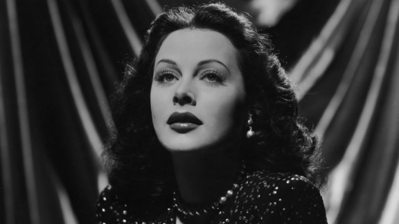 """Hedy Lamarr in 1943 in a promotional portrait for Alexander Hall's film, """"The Heavenly Body."""""""