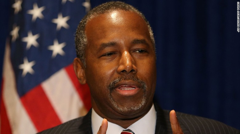 Ben Carson lashes out at the media