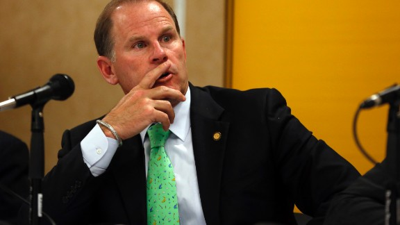 Tim Wolfe, president of the University of Missouri, resigned from his post on November 9, 2015, amid a controversy regarding race relations at the school. Wolfe and the rest of the school's administration had been accused of taking little to no action after several racial incidents on campus. A day before the resignation, black players on the school's football team said they would essentially go on strike until Wolfe resigned or was fired.