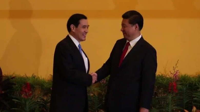 China and Taiwan leaders hold historic talks