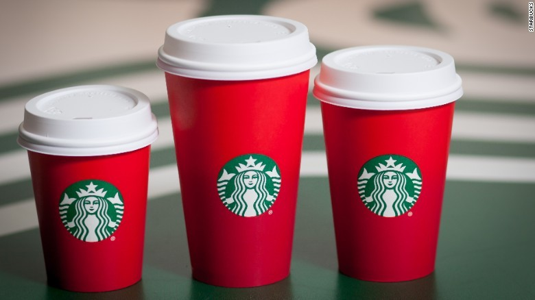 Starbucks' red cups cause controversy
