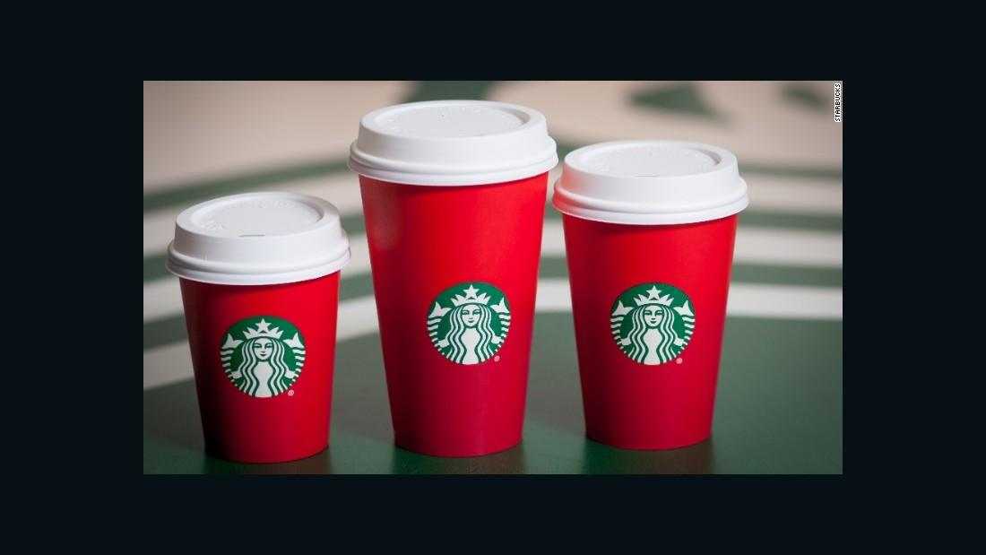 Starbucks Christmas Cups.Starbucks Red Cups Pc Nonsense Cnn