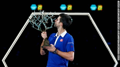 Novak Djokovic: 2015 has been 'the best year of my life'