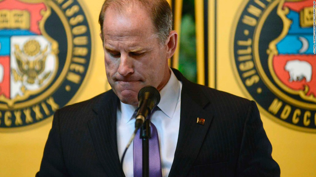 University of Missouri president and chancellor resign - CNN 07628dc8d7