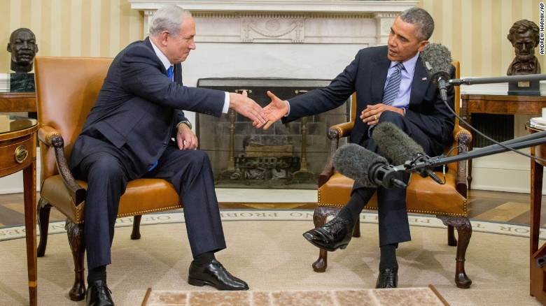 2015: Obama meets with his least favorite ally