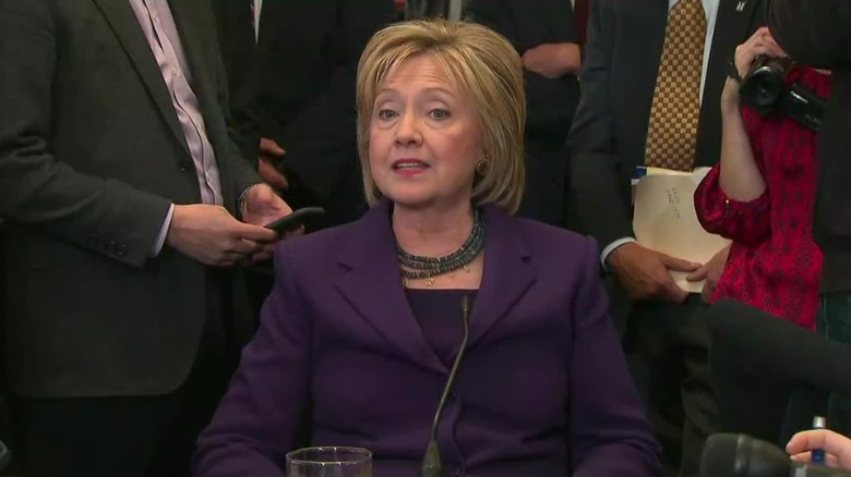 Clinton files for New Hampshire primary