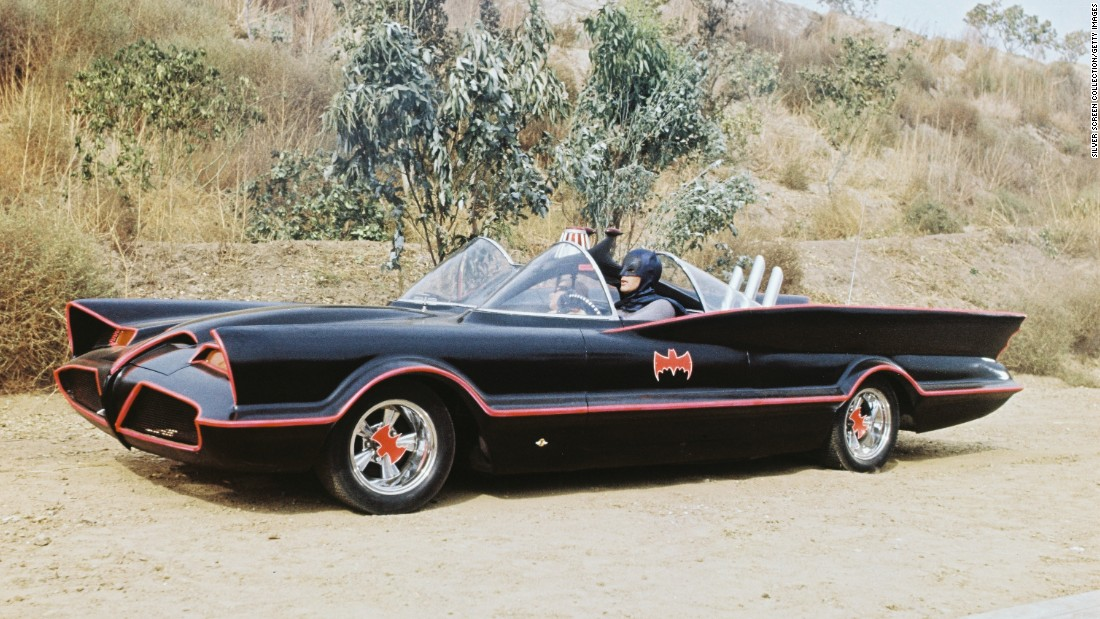Take a look at these ultimate movie cars - CNN Style