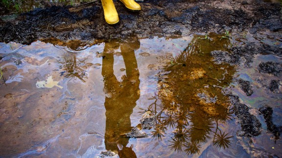 Spill Sites in Kegbara-Dere community in Gokana LGA Rivers State, Niger Delta, Nigeria.