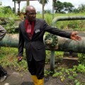 niger delta oil site