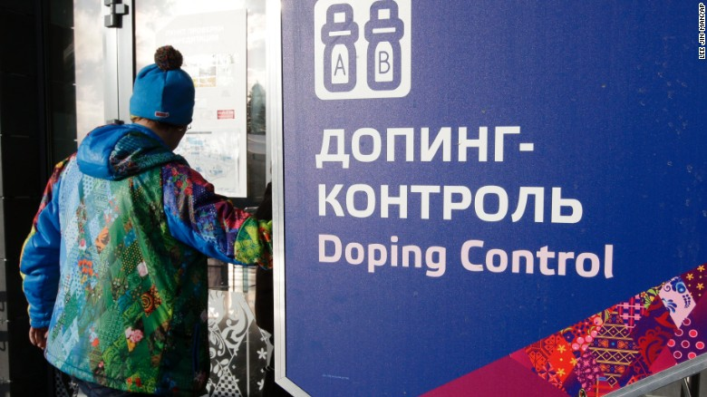 Report: Russian athletes should be banned  for doping