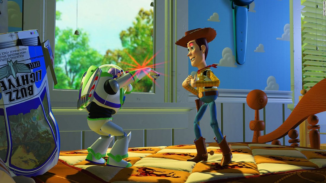 "Twenty-one years ago, Pixar made movie history with ""Toy Story,"" the first full-length film to be animated by computers. Pixar had won Oscars for its short films, but ""Toy Story"" proved that it could sustain its storytelling magic over the length of a feature film. Released on November 22, 1995, the movie earned $362 million worldwide and spawned two sequels."
