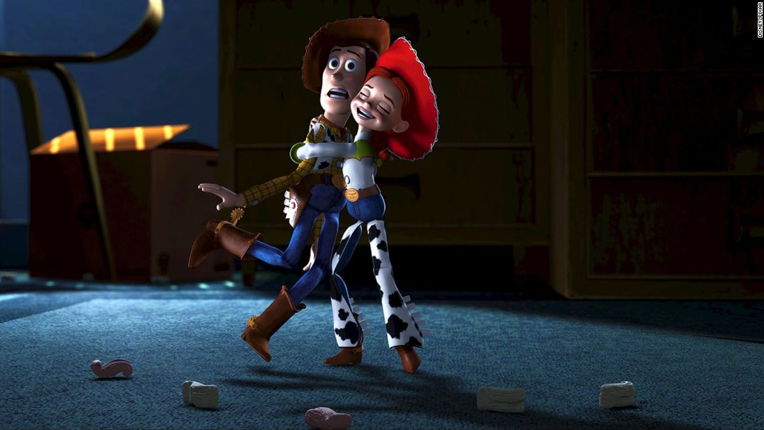 The gang returned for this sequel, in which Buzz leads the other toys on a mission to rescue Woody, who has been abducted by a slimy toy collector. The movie introduced a new pal for Woody: Jessie, an enthusiastic cowgirl voiced by Joan Cusack. Worldwide box office: $485 million.