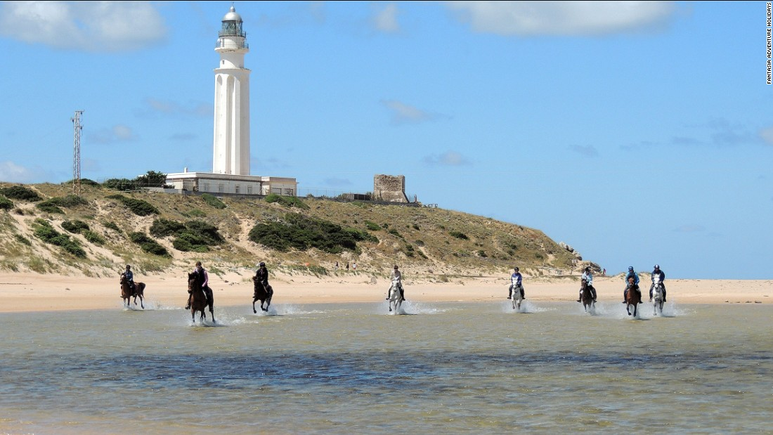 "Expeditions also include rides across Cape Trafalgar -- where Britain's Royal Navy defeated Napoleon at the eponymous battle in 1805. <br />For more details visit <a href=""http://www.fantasiaadventureholidays.com"" target=""_blank"">Fantasia Adventure Holidays</a>"
