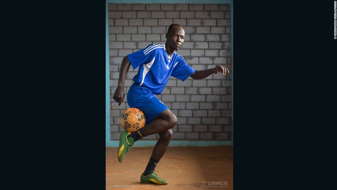 "Nantouna  excels at soccer as well as karate. He used to play for the team DFC8, playing with international stars like Foxi Kethevoama. <br /><br />""My dream is to continue my sports practice,"" he says. ""I want to become like Didier Drogba and Samuel Eto'o."""