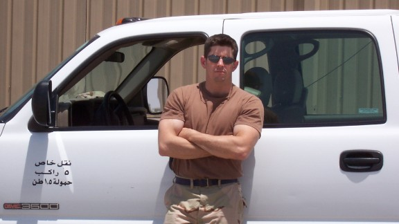 """David Masters was on a temporary duty assignment at Ali Al Salem Air Base in Kuwait in 2004 when he noticed the first symptoms of ALS:  """"I was weight training, working out in the gym, and my right arm did not want to cooperate, did not want to keep up. I was 28, just turning 29 years old, and I thought it was a pinched nerve, but it kept getting weaker and weaker."""""""