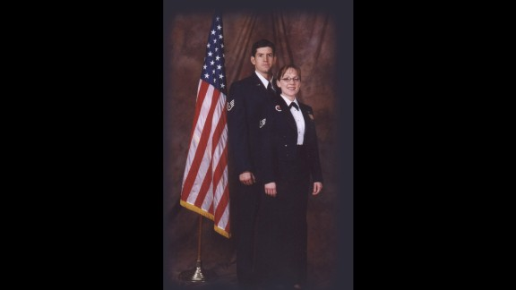 """Masters and his wife, Jodi, met while they were in the Air Force together.  He was diagnosed with ALS in 2010.  """"Do I wish I'd never served?  No, not at all,"""" says Masters. """"The Air Force did so much for me as a person; I don't regret it at all."""""""