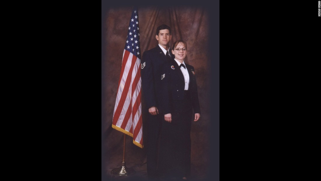 "Masters and his wife, Jodi, met while they were in the Air Force together.  He was diagnosed with ALS in 2010.  ""Do I wish I'd never served?  No, not at all,"" says Masters. ""The Air Force did so much for me as a person; I don't regret it at all."""