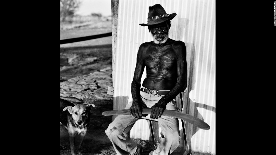 Wallaby Japila, photographed in 1980 at Yarralin Aboriginal Land, Northern Territory.