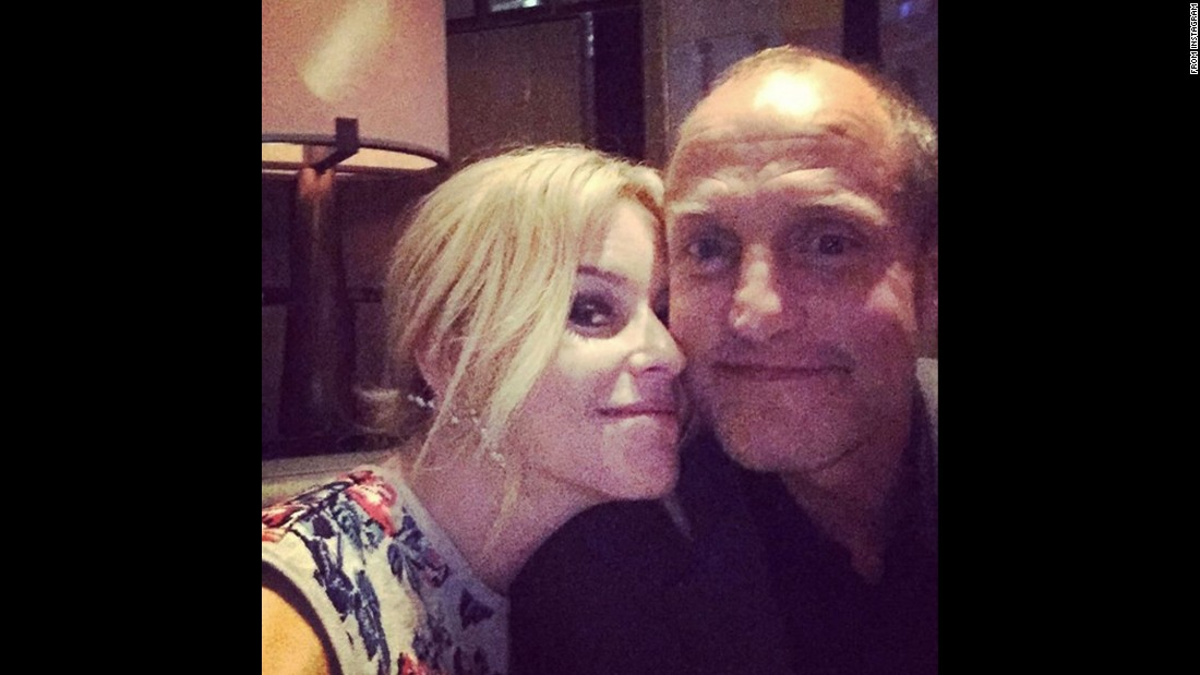 "Actress Elizabeth Banks, with her ""Hunger Games"" co-star Woody Harrelson, <a href=""https://www.instagram.com/p/9zV3qoJXQA/"" target=""_blank"">called this a ""hayffie""</a> on Saturday, November 7. The term references their character names -- Haymitch and Effie -- from the popular film series."