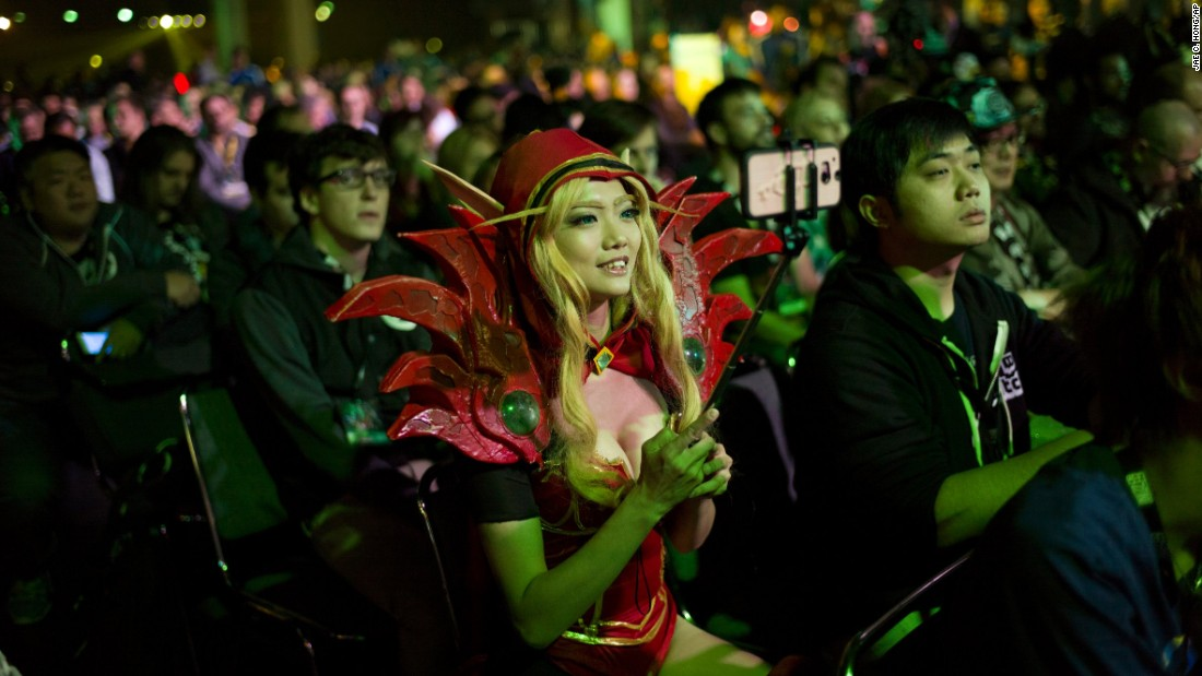 "A woman dressed as video game character Valeera Sanguinar takes a selfie Friday, November 6, before the opening ceremony of BlizzCon in Anaheim, California. <a href=""http://www.cnn.com/2015/11/04/living/gallery/look-at-me-selfies-1104/index.html"" target=""_blank"">See 26 selfies from last week</a>"