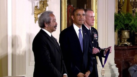 allen toussaint white house 2013 national medal of arts sot vo _00010526