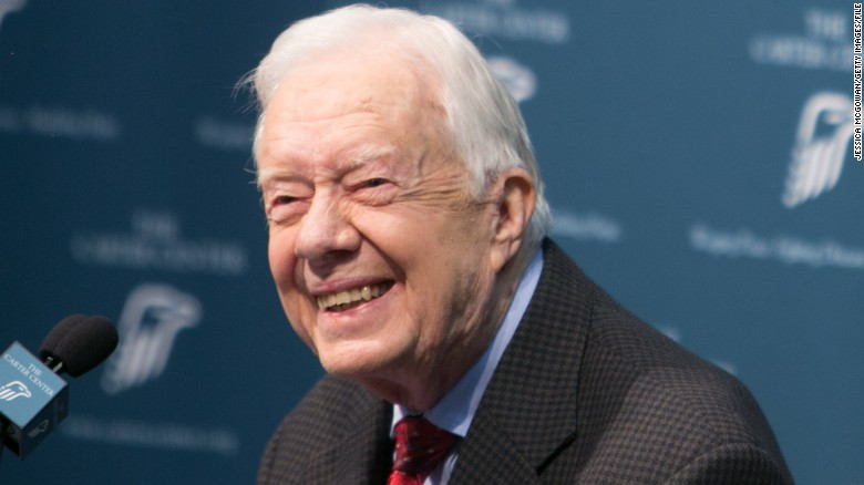 Jimmy Carter: I'm free of cancer
