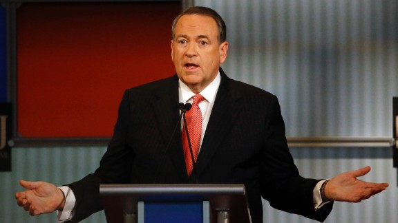 """""""I believe that manufacturing is critical,"""" Huckabee said. """"If we can't feed ourselves, fuel ourselves and fight for ourselves, we can't be free."""""""