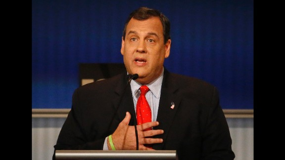 """""""I believe the greatness of America is not in its government, the greatness of America is in the American people,"""" Christie said. Get the government """"the hell out of the way,"""" he said."""