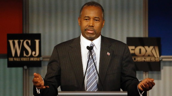 """When Carson was asked about the media investigations into his biographical story, he started with a well-received quip. """"Thank you for not asking me what I said in the 10th grade, I appreciate it,"""" Carson said. """"The fact of the matter is, you know, what? We should vet all candidates. I have no problem with being vetted. What I do have a problem with is being lied about and then putting that out there as truth."""""""