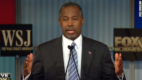 Dr. Ben Carson: I would not raise the minimum wage