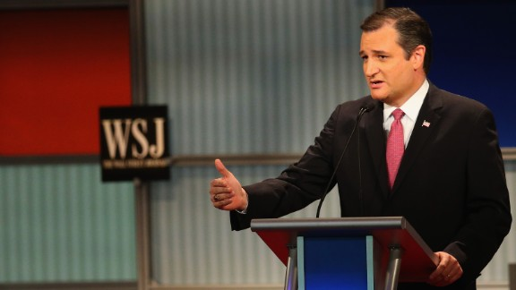 """""""From 2008 to today, our economy has grown 1.2 percent a year on average,"""" Cruz said during the debate. """"The Obama economy is a disaster, and the (International Monetary Fund) is telling us this is a new normal. It doesn't have to be."""""""