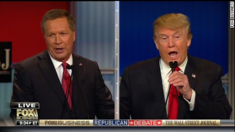 Trump on Kasich: 'I don't have to hear from this man'
