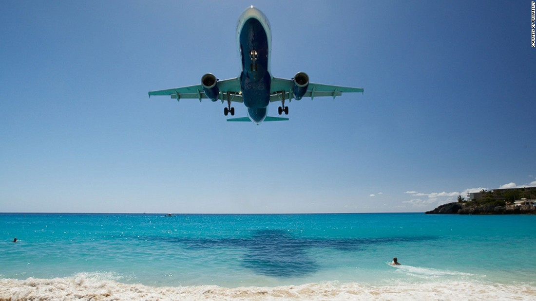 World's most scenic airport approaches