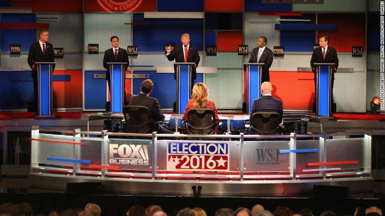 Candidates work campaign trail after GOP debate