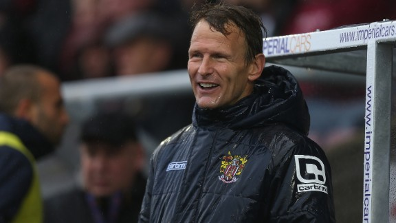 Forty-nine-year-old Teddy Sheringham recently registered himself as a player for Stevenage, the club he managers, due to a lack of players. After initially retiring aged 42 in 2008, the former Manchester United striker is yet to play since re-registering.