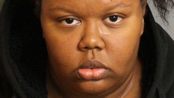 Katerra Lewis is charged with manslaughter.