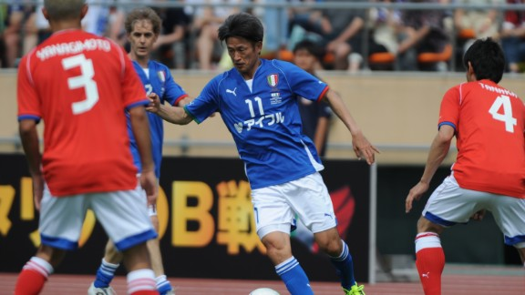 Kazuyoshi Miura has signed a new one-year deal with Yokohama FC at the grand old age of 48. The new contract means his professional football career will span more than 30 years.