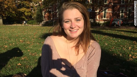 "Kari Schram, a psychology major at MU, said she is troubled by social media posts from people criticizing and mocking protests. ""I'm seeing people I never thought would have this stance, and it makes me sad."""